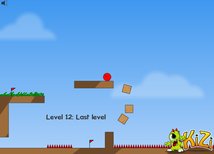 Red Ball level 12 last level