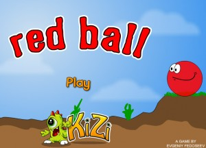 Click to play Red Ball