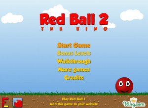 Click to play Red Ball 2