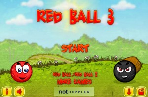 Click to play Red Ball 3