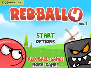 Click to play Red Ball 4