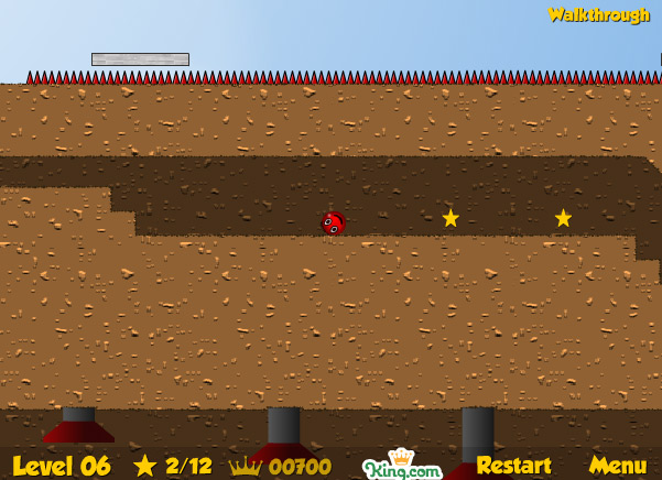 Red Ball 2 level 6
