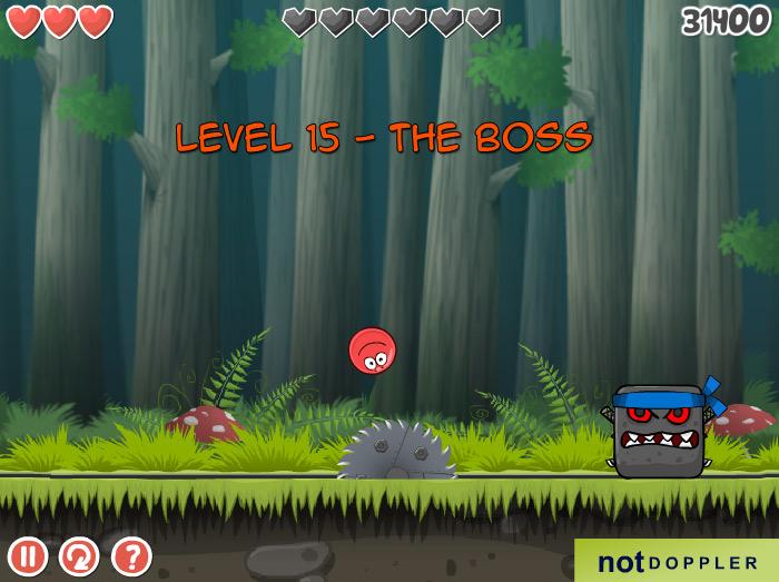 Red Ball 4 vol 2 boss